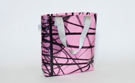 More With Less (artwork by Stephen Smith) - MU Banner Bag