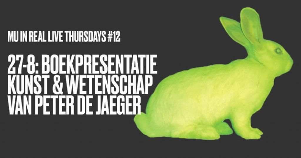 MU In Real Live Thursdays #12: Book Presentation Kunst & Wetenschap (Art & Science)