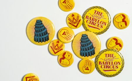 The Great Babylon Circus - Button